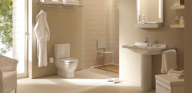 Planung und Realisierung von altersgerechten Badezimmern